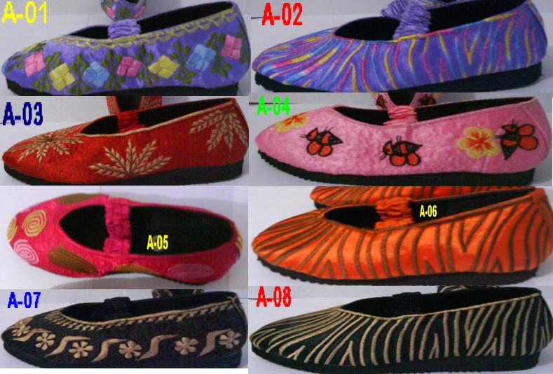 KATALOG 1 Sepatu Bordir Anak