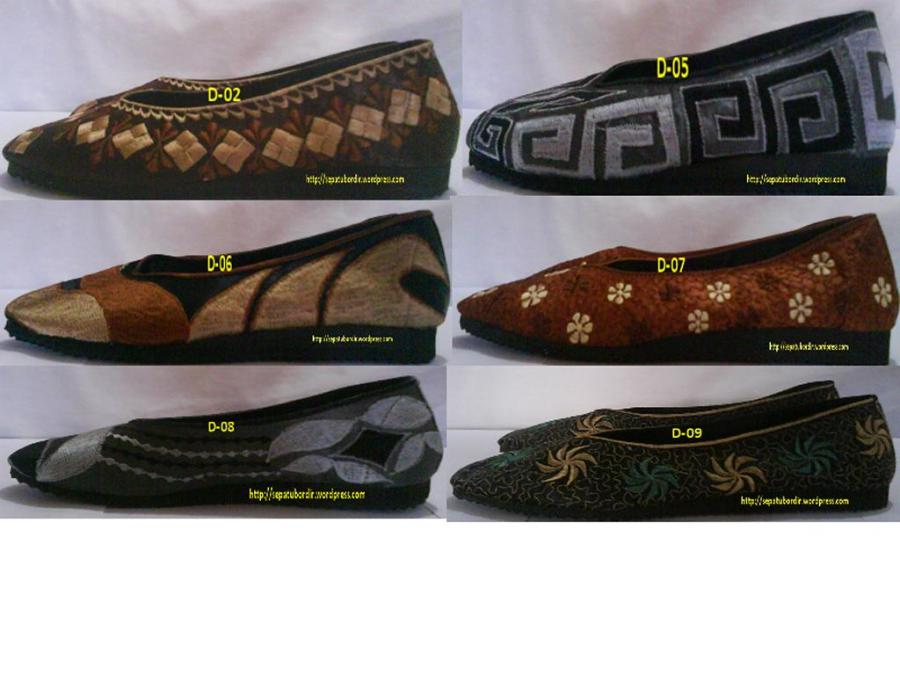 katalog sepatu bordir dewasa # 2