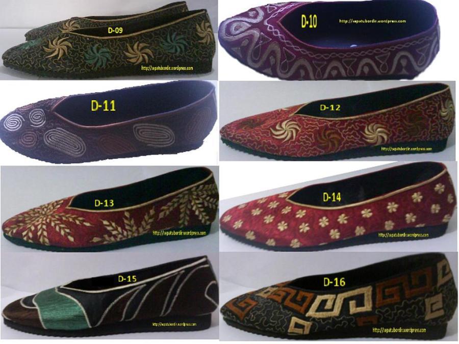 katalog sepatu bordir dewasa # 3