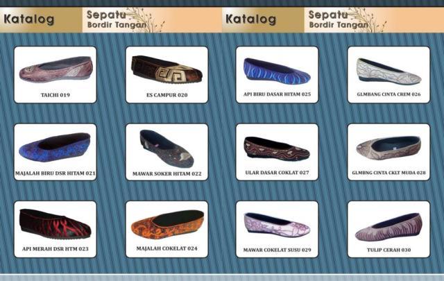 katalog sepatu bordir 3