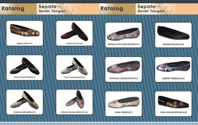 Katalog Sepatu Bordir 4