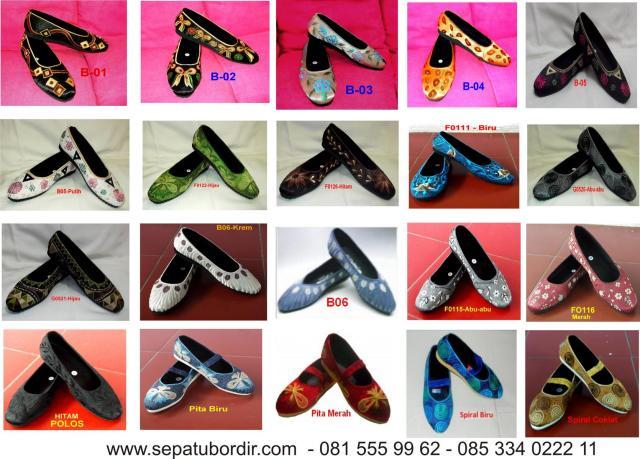 Katalog Sepatu Bordir 2013 # 1